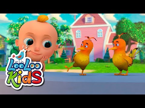 Two Little Dickie Birds - THE BEST Educational Songs for Children   LooLoo Kids