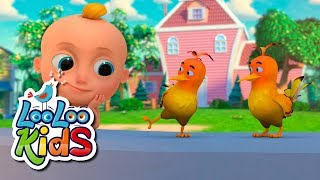 Two Little Dickie Birds - THE BEST Educational Songs for Children | LooLoo Kids
