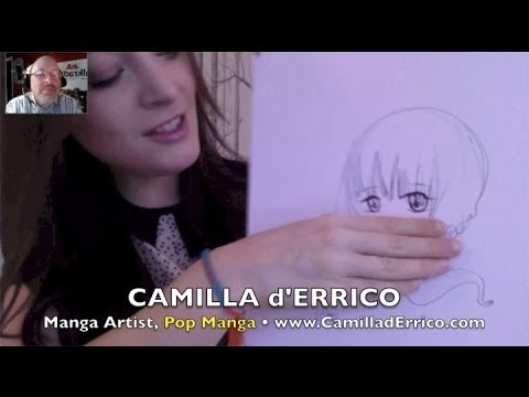 Camilla d'Errico: Fresh Pop Manga direct from Vancouver to you! INTERVIEW, DEMO