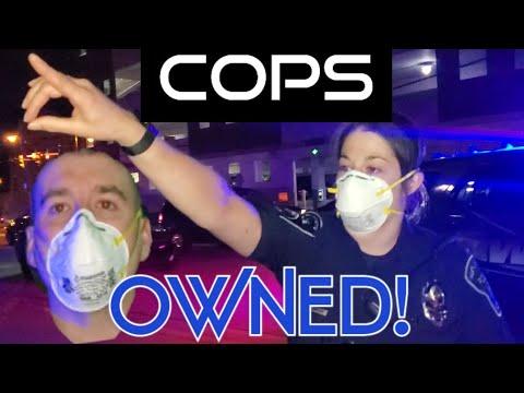 COPS OWNED! ORDERS REFUSED! 1ST AMENDMENT AUDIT FAIL!