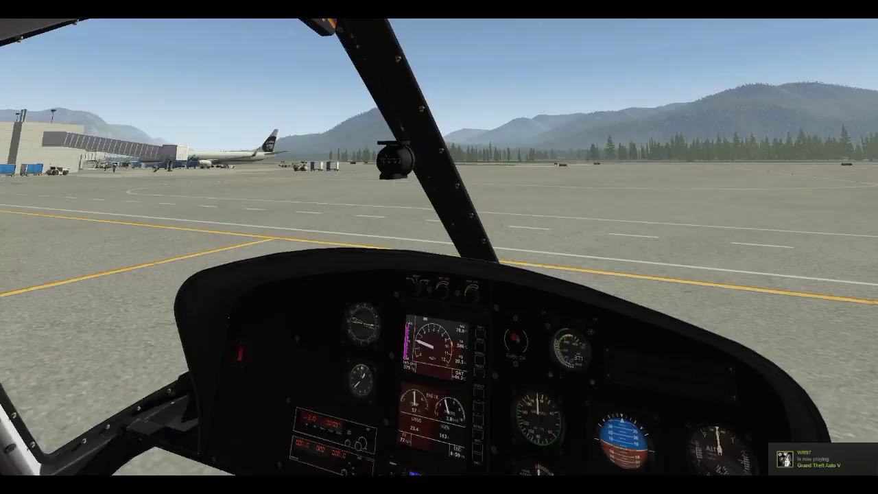 [X-Plane 11]Hardware Setup For Helicopters And Hover Practice/Tips   Happycamper 12:06 HD