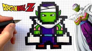 Tuto Dessin Piccolo Pixel Art Dragon Ball Youtube