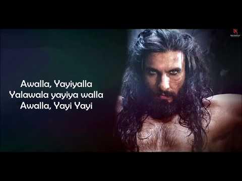 khalibali (padmaavat - 2018) shivam - pathak - shail - hadalyrical video