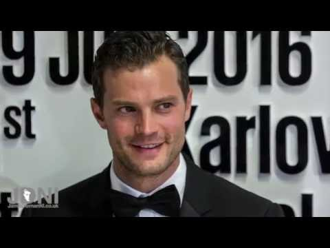 Jamie Dornan - Arrival at KVIFF2016 + Interviews