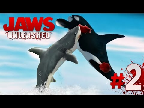 JAWS IN SEA WORLD!! - Jaws Unleashed - Gameplay Mission 2 (PS2) || HD