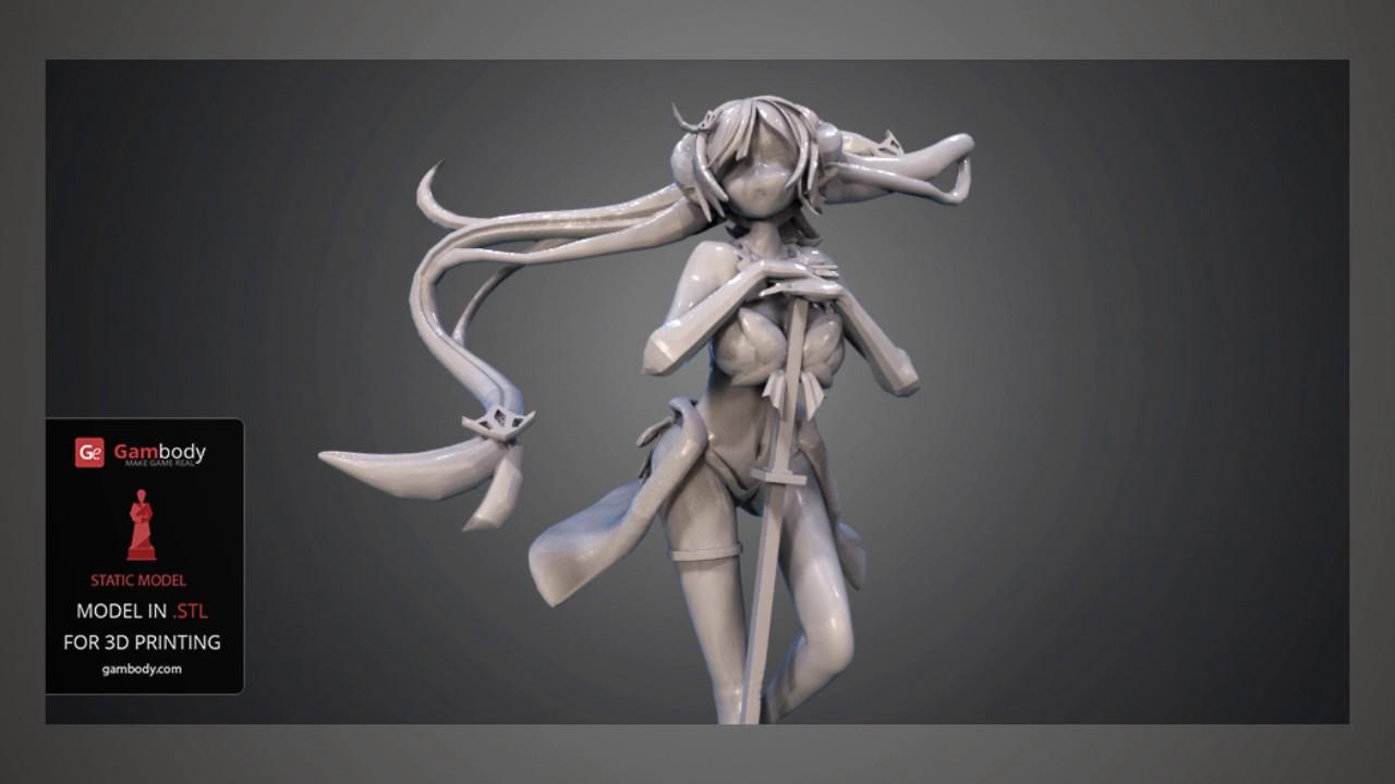 3d anime more models 3