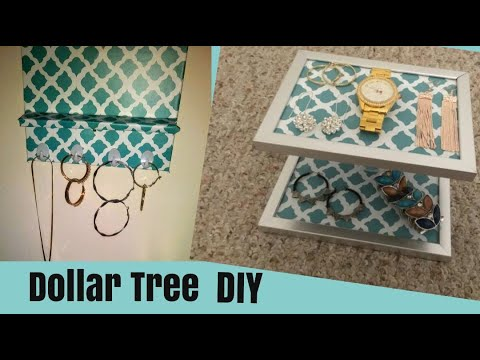 Dollar Tree DIY Jewelry Holder
