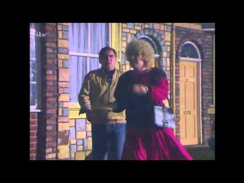 Coronation Street  Vera Smashes Derek's Window