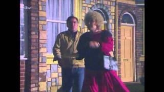 Coronation Street - Vera Smashes Derek's Window