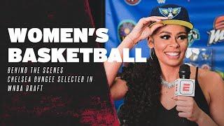 Razorback Basketball: Behind The Scenes, Chelsea Dungee WNBA Draft Night