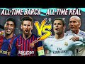 BARCELONA'S ALL TIME XI vs REAL MADRID ALL TIME XI FIFA 20 EXPERIMENT! - X-MAS GIVEAWAY!