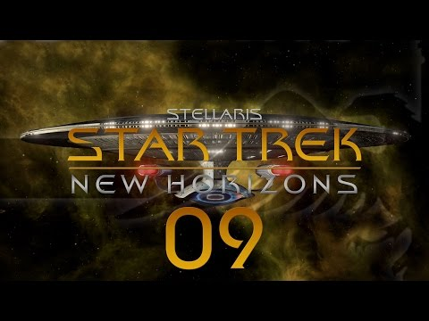 Stellaris Star Trek #09 STAR TREK NEW HORIZONS MOD - Gameplay / Let's Play
