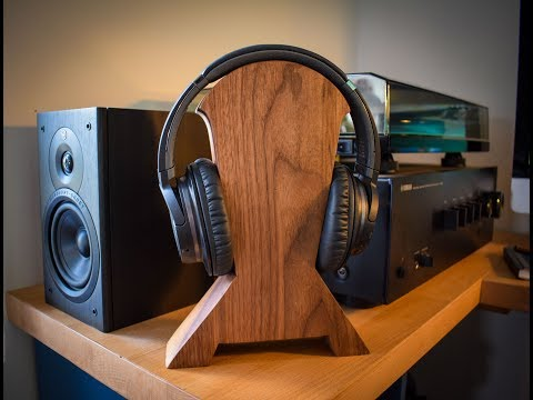 How to make a Headphone Stand - Free Template