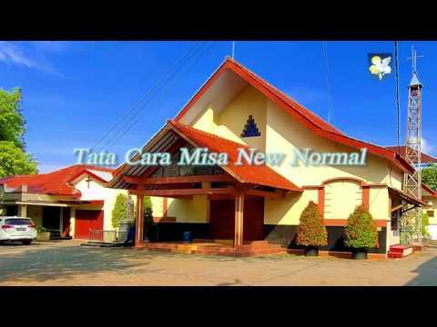 Tata Cara Misa New Normal - YouTube