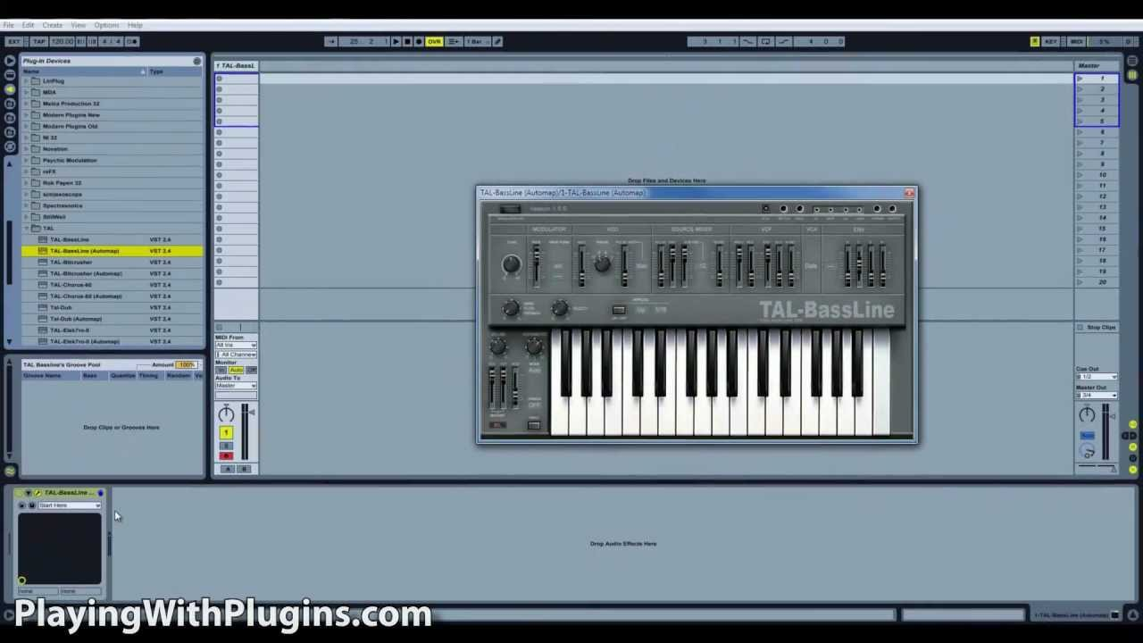 TAL Bassline | Review | PlayingWithPlugins