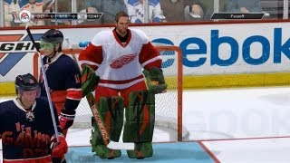 NHL 13: How To Have No Goalie Mask