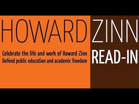 Howard Zinn Read-In at Purdue University