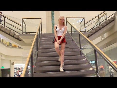WEARING LINGERIE IN PUBLIC *WE GOT KICKED OUT*