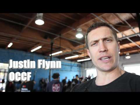 CrossFit Games - Andrea Ager and Kenneth Leverich on 12.3