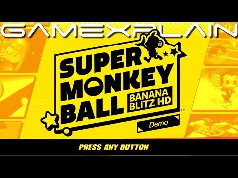 Super Monkey Ball: Banana Blitz HD DEMO - Game & Watch (Nintendo Switch)