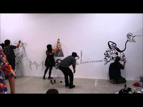 Mangaro Wall Painting Live 01