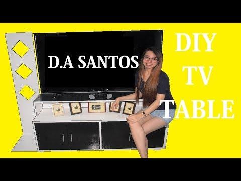DIY TV Cabinet Table