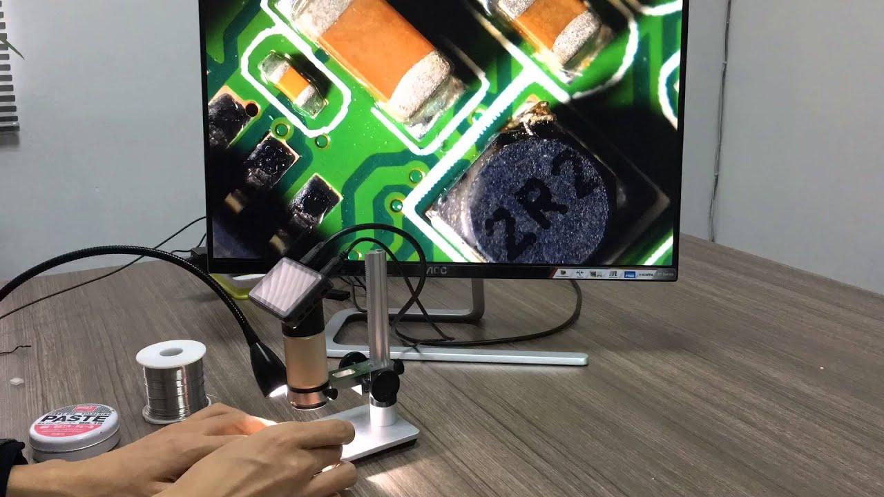 Портативный usb микроскоп легкий электрический ручной микроскопы всасывающий инструмент 1000x8 led цифровая эндоскопа камера mic. Mr ali store. 300x hdmi 3. 0mp электронные цифровые видео микроскоп 3. 0 дюймов жк-дисплей 1080 p пайки usb led длинные расстояние до объекта ми.