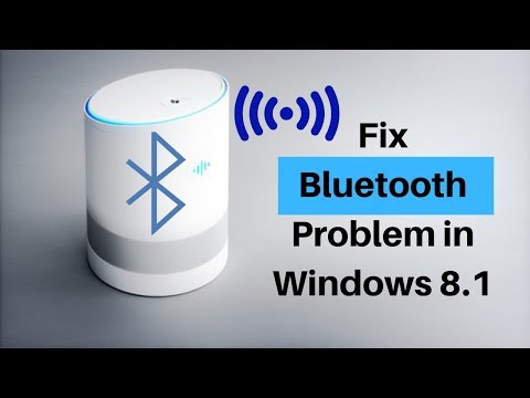 Fix Bluetooth Not Working On Window 8.1 - Not Found Nearby Bluetooth Devices