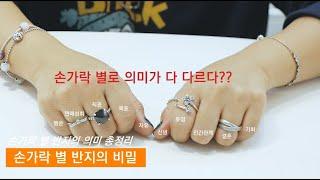 #3  손가락별 반지의 의미