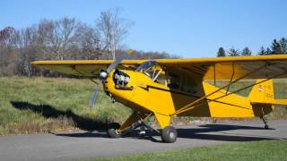 1941 Piper J3 Cub Aircraft Review with Flight in NorthEast