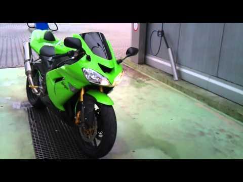 Kawasaki Ninja ZX10R 2004 Soundcheck Akrapovic