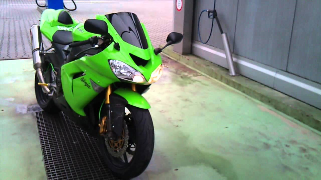 kawasaki ninja zx10r 2004 soundcheck akrapovic youtube. Black Bedroom Furniture Sets. Home Design Ideas