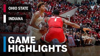 Highlights: Ohio State at Indiana | Big Ten Basketball