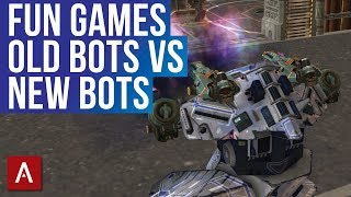 Fun Games With Clan VØX - Old Robots Vs New Robots / Live Stream | WR