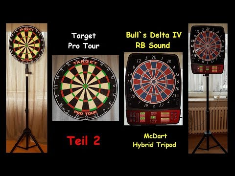 Bulls Delta IV RB Sound Elektronisch Dartboard
