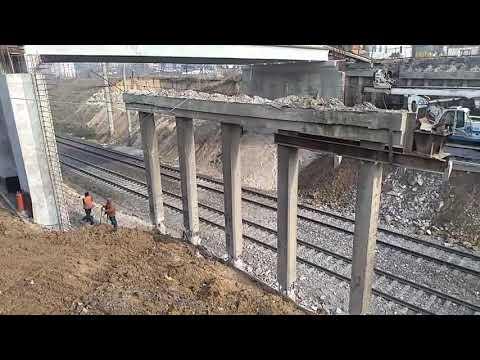 Poglyad Ternopil: Демонтаж конструктивних елементів Гаївського моста