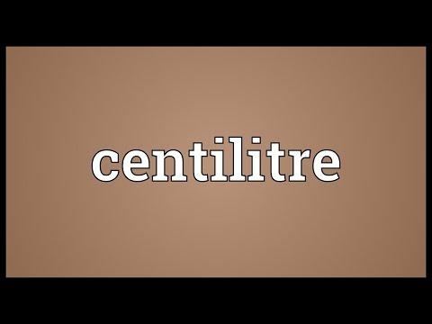 Header of centilitre