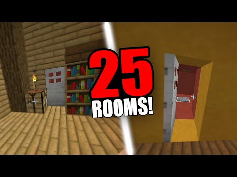 minecraft-25-rooms!