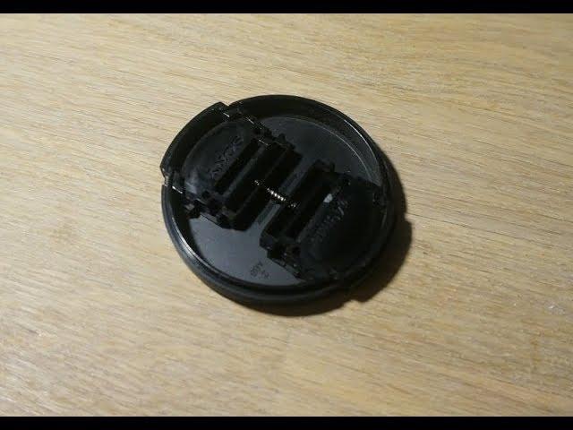 Ремонт крышки объектива Sony Nex 5 (лайфхак)