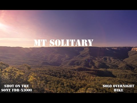 Mt Solitary - Overnight Solo Hike