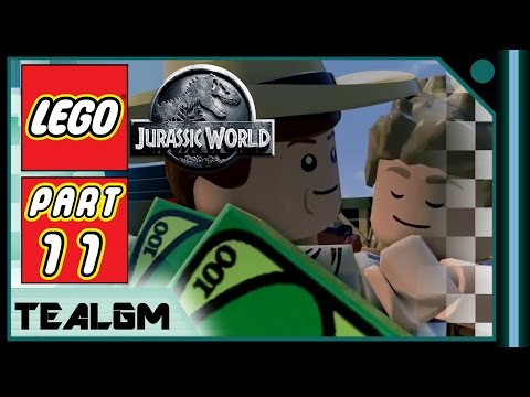lego-jurassic-world---part-11:-richard-grant