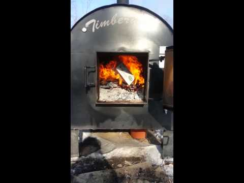 Cleaning Creosote in the Outdoor Wood Boiler