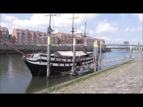 Bremen Germany: Along the river Weser and das Viertel