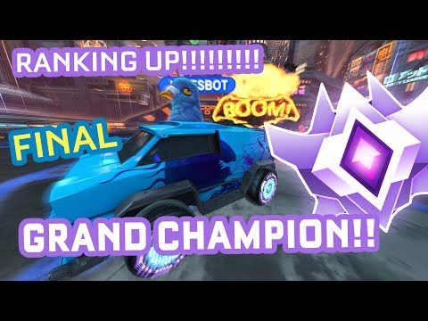 THIS IS IT... RLCS ANALYST GETS GRAND CHAMPION!?!