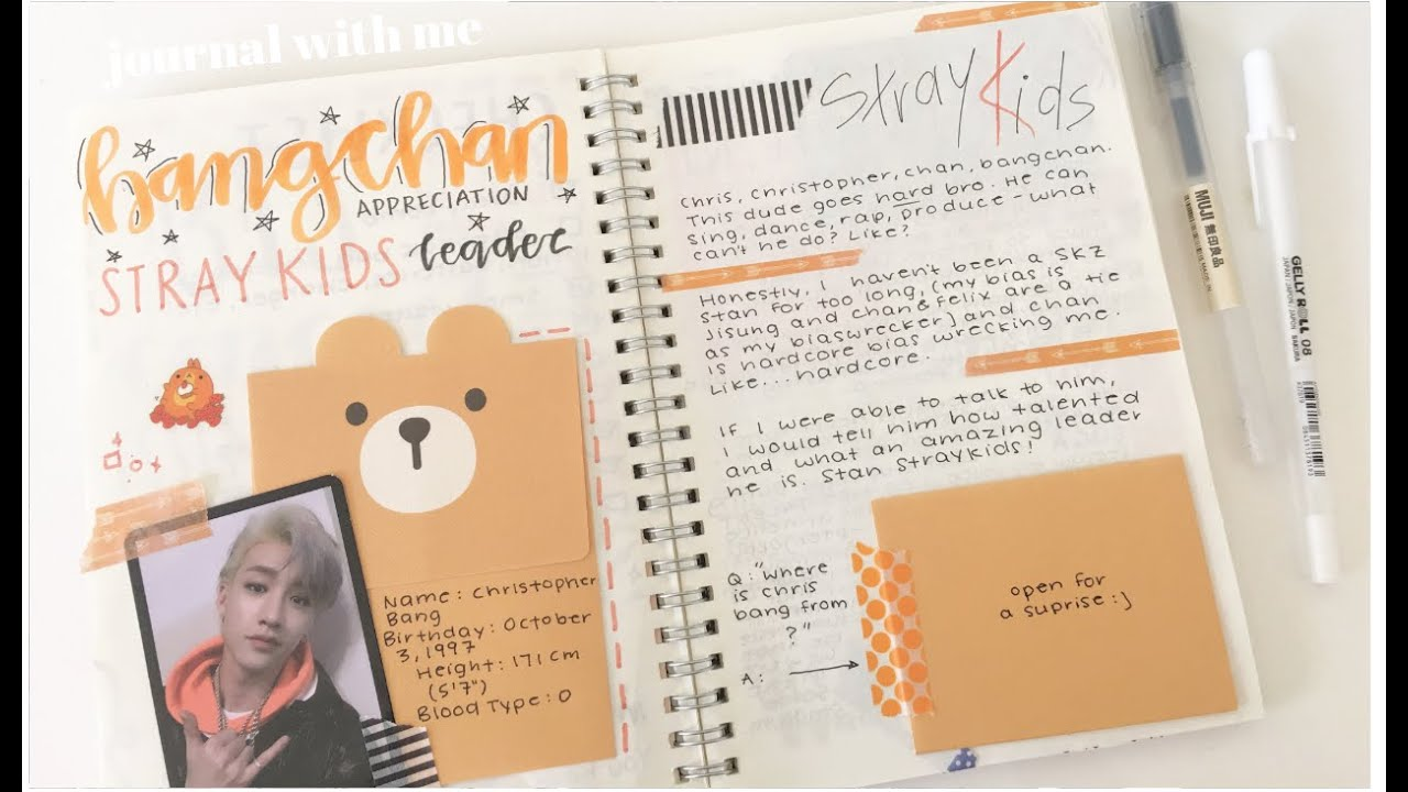 stray kids BANGCHAN appreciation | kpop journal