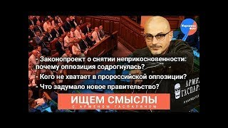 Как на украинскую оппозицию повлияет отмена депутатского иммунитета