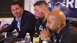 TONY BELLEW - 'I'LL KNOCK TYSON FURY OUT NOW! BUT I DONT WANT THE GUY WHO TURNED UP IN DUSSELDORF'