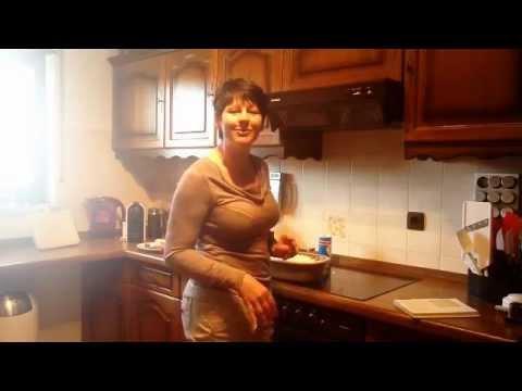 the pampered chef zaubermeister kartoffelgratin mit brokkoli und schinken youtube. Black Bedroom Furniture Sets. Home Design Ideas