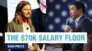 CEO Dan Price raised his company's minimum wage to 70K | Andrew Yang | Yang Speaks