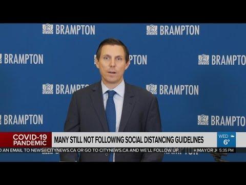 Brampton And Mississauga Mayors Provide Pandemic Update